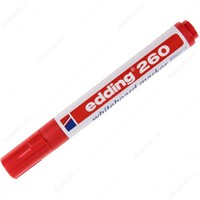 Edding 260 Beyaz Tahta Kalemi Kırmızı