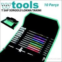 Weber Tools T Sap Sürgülü Lokma Takımı 10 Parça+Çanta