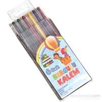 Nova Color Nc-2121 Çevirmeli Mum Boya 6 Renk