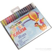 Nova Color Nc-2123 Çevirmeli Mum Boya 18 Renk