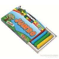 Nova Color Nc-2124 Silinebilir Mum Pastel Boya Jumbo 12 renk