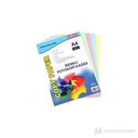 Globox Renkli Fotokopi Kağıdı 100'Lü