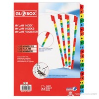 Globox Mylar Separetör 1-20 Rakam