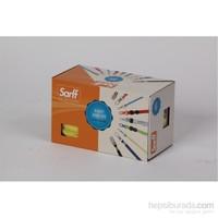 Sarff Metal Klips Açık Mavi Kurdele 50 Ad. 15311210