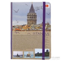 Scrikks Travel Around Turkey İstanbul A6 Çizgili