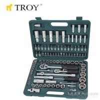 Troy 26102 Lokma Anahtar Takımı (108 Parça, Metrik)