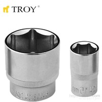 "Troy 26180 1/2"" Lokma (Ölçü 8Mm-Çap 21,8-Uzunluk 38Mm)"