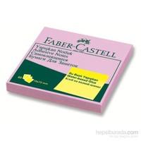 Faber-Castell Yapışkan Notluk Harmony 75x75mm, Mor (5089585401)