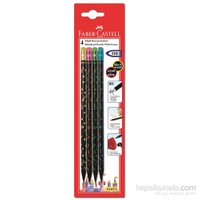 Faber-Castell 4 Party Kurşunkalem (5504119200)