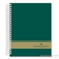 Faber-Castell Sert Kapak Sep.3+1+1 Yeşil Defter 200 Yaprak (5075400505)
