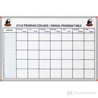 Panda 853 70X100 Aylık Program Çizelgesi