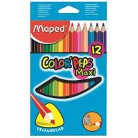Maped Color Pep's Maxi 12'Li Kuru Boya 834010Zv