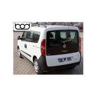 Bod Fiat Doblo Uzun Alüminyum Port Bagaj-Siyah 2010-2015