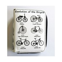Köstebek Evolution Of The Bicycle Cüzdan