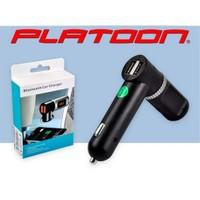Platoon Pl-9241 Araç Oto Bluetooth Fm Transmitter Çakmak Şarj Aleti Araç Kiti