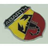 Metal Abarth Logo