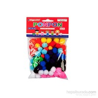 Bigpoint Ponpon 2 Cm 10 Renk 100'Lü