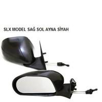 Schwer Slx Tip Sağ Sol Ayna Takımı Siyah