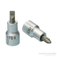 "Proxxon 23462 1/2"" Düz Lokma Bits Ucu-8 mm"