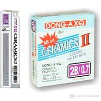 Dong-a Ceramics 60mm X 0,7mm 2B Min Kalem Ucu 12'li