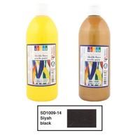 Südor 1009-14 Akrilik Boya 500 ml Siyah