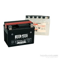 Bs-Battery Btx4l-Bs (Ytx4l-Bs) 12V 3Ah 50Cca Agm Bakımsız Motosiklet Aküsü