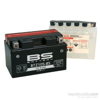 Bs-Battery Btz10s-Bs (Ytz10s-Bs) 12V 8,6Ah 190Cca Agm Bakımsız Motosiklet Aküsü
