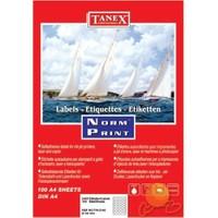 Tanex TW-2140 40 mm Laser Etiket 100 Ad.