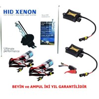 Schwer H1 8000K Xenon Far Seti İnce Slim Dijital Balats