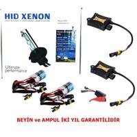 Schwer H4 8000K Xenon Far Seti İnce Slim Dijital Balats