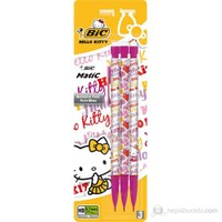 Bic Hello Kitty 0.7 Bic Matic Decor Versatil Kalem 3'lü Blister