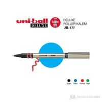 Uni-ball Deluxe Fine Roller Kalem (UB-177) 'lü Paket