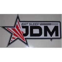 Eat Sleep Jdm Sticker 10'Lu Paket