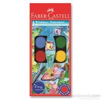 Faber-Castell Redline Suluboya 12 Renk Büyük Boy (5292125012)