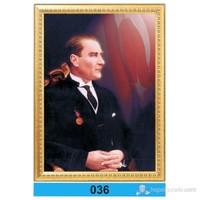 İnter 50x70 cm Varaklı Atatürk Portresi İNT-036