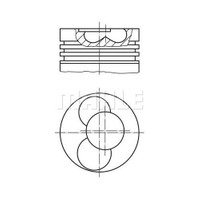 Mahle 0304002 Motor Piston Segman (0,50) Caddy 1.9 Tdi (Afn) 1.2 Silindir (80.01) (030Pı00040102)