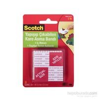 Scotch® Çift Taraflı Yapışıp Çıkabilen Köpük Kareler 16 adet / 2,5x2,5cm