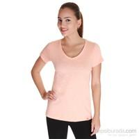 Sportive Kadın V Yaka T-Shirt