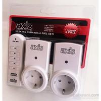 Axis LR-UK2 Uzaktan Kumandalı Priz Set