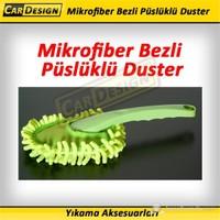 CRD Mikrofiber Bezli Püslüklü Duster
