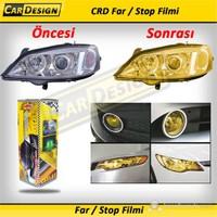 CRD Far / Stop Filmi SARI 30 cm x 1 Metre