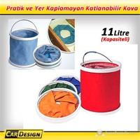 CRD Su Sızdırmaz Kova Kompakt Katlanabillir (11 Litre )
