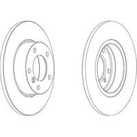 Ferodo Ddf248 Dısk Ayna : Ön - Marka: Bmw - E36 - Yıl: 90-93