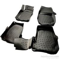 L.Locker Bmw E83 X3 2003-2010 3D Havuzlu Paspas (Siyah)