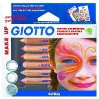 Giotto Yüz Boyama Kalemleri Klasik Renker Askılı Paket 6' Lı 470200