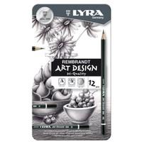 Lyra Dereceli Kurşun Kalem Art Desing 1111120