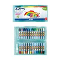 Giotto Big Rainbow - Yağlı Pastel Boya 24 'Lü Plastik Kutu 295200