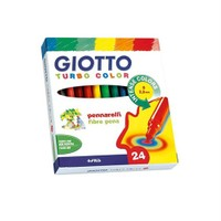 Giotto Turbo Color Keçeli Kalem 24'Lü Kutu 417000