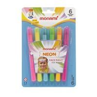 Monami Yüz Boyası 6 Renk Neon Mybn06