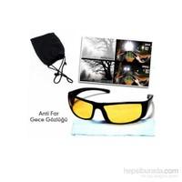 Borup Anti Far Gece Görüş Gözlüğü ( Taşıma Çantalı ve Temizleme Bezi Hediyeli )